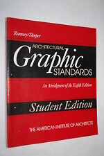 Architectural Graphic Standards: An Abridgment of the Eighth Edition, Student Ed