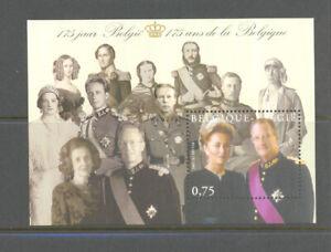 BELGIUM 2005 150 years belgium M/S mnh** blok 118