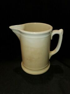 Antique Chester Hotel China Ironstone Pitcher L5