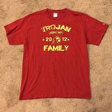 NCAA USC TROJANS TROJAN FAMILY MEMBER SINCE 2012 T SHIRT LARGE L!