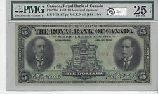 **1913**Neill/Holt $5 Royal Bank Large Note Serial# 3558197 PMG VF-25