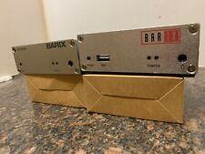 Barix Exstreamer + Instreamer Multiprotocol Audio Over IP Encoder-Decoder