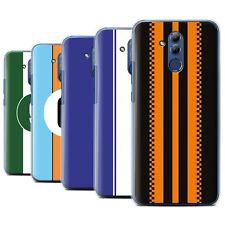 STUFF4 Back Case/Cover/Skin for Huawei Mate 20 Lite/Racing Car Stripes