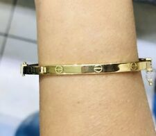 18k Yellow Gold Bracelet  7.40GM (Pre.Owned) 550$(52x60mm)