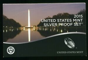 2015-S United States Mint Silver Proof Set w/ CoA CP853