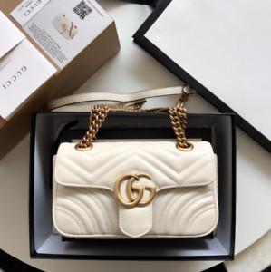 GUCCI GG Marmont Crossbody Shoulder Bag NEW