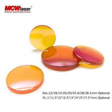 MCWlaser ZnSe Focus Lens For CO2 Laser Engraving Cutting Machine