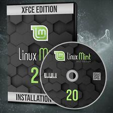 NEU: Linux Mint 20.2 XFCE Betriebssystem DVD inkl. Anleitung Markenware