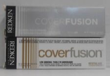 Original Redken COVER FUSION Low Ammonia 100% Grey Coverage Hair Color ~ 2 fl oz