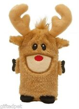 Mini-Invincibles Holiday Reindeer Dog Toy