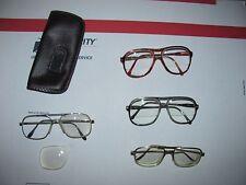 Vtg Lot of Men's Used Bifocal Eyeglasses Eye Wear Retro Frames Parts or Repair