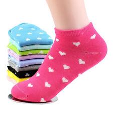5 Paar Damen Mädchen Sport Socken Sneaker Füßlinge Freizeit Random