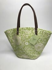 Women's Bath & Body Works INSIDE OUT Floral & Striped Reversible Tote •NWT