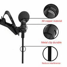 Clip-on Lapel Mini Lavalier Mic For iPhone SmartPhone Recording Pro H4P3