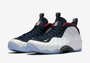Nike Air Foamposite RARE Olympics USA Red White Blue Penny Hardaway Size 12