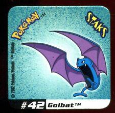 STAKS MAGNET AIMANT POKEMON N°  42 GOLBAT E