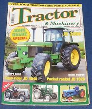 TRACTOR & MACHINERY JANUARY 2010 - JOHN DEERE SPECIAL/EASY RIDER JD 4040