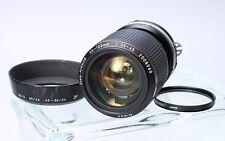 NIKON ZOOM-NIKKOR 35-105MM F/3.5-4.5 AIS LENS W/ CAP, HOOD #2008060