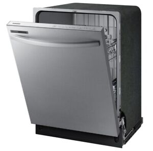 """Samsung DW80R2031US 24"""" Stainless Fully Integrated Dishwasher"""