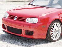 VW GOLF MK4 IV (1998-2006) NEW GENUINE FRONT BUMPER SPLITTER SPOILER 1ML805903