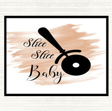 Watercolour Slice Slice Baby Quote Mouse Mat Pad