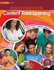 Strategies for Content Area Learning: Vocabulary*Comprehension*Response , BERGLU