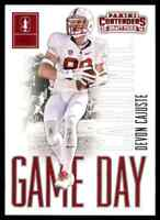 2016 PANINI CONTENDERS GAME DAY DEVON CAJUSTE RC STANFORD CARDINAL #41