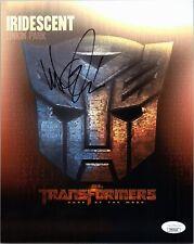 "MIKE SHINODA Authentic Hand-Signed ""LINKIN PARK TRANSFORMERS"" 8x10 Photo JSA COA"