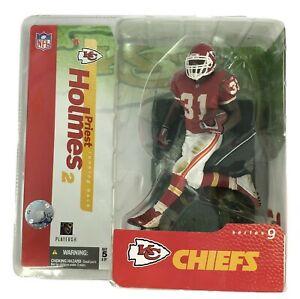 2004 Kansas City Chiefs Priest Holmes Series 9 Figure McFarlane NFL Football NEW