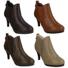 Stivali e stivaletti da donna sintetici da infilare tacco alto ( 8-11 cm )