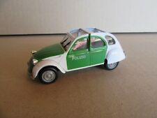782G Norev Hachette Citroën 2cv 6 Polizei 1:43