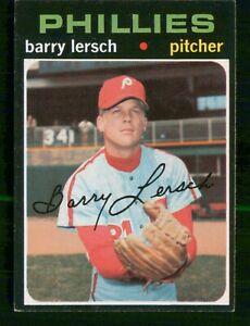 BARRY LERSCH 1971 TOPPS NO 739 VGEX 28595