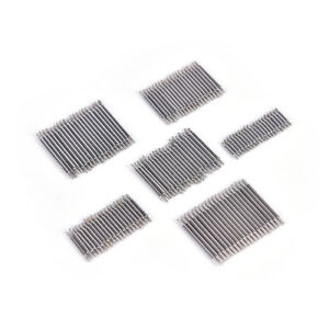 20PCS Stainless Steel Spring Bar Pins Link For Watch Band Strap Size 8-22mmFY