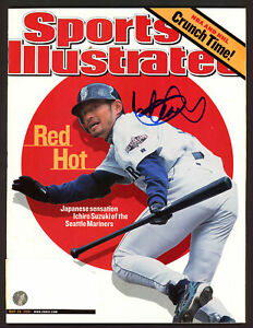 Ichiro Suzuki Autographed Sports Illustrated Magazine First SI IS Holo #190690