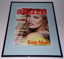 Kate Moss 2013 Allure Magazine Framed 11x14 ORIGINAL Cover Display