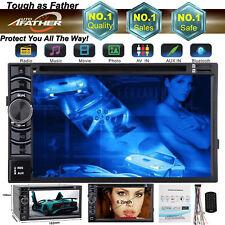"""For Audi A1 A5 A6 A7 Q3 6.2""""2 DIN Car Stereo DVD Radio MP4 Bluetooth Touchscreen"""