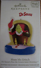 "*2011* Hallmark GRINCH Ornament ""MEAN MR. GRINCH"" Dr. Seuss"