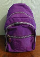 Very Small Purple Lightweight Nylon Monostrap Backpack. Brand New with Tags.