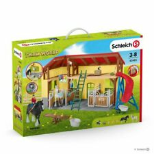 Schleich 42485 Horse Stable With Accessories Farm World