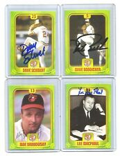2004 baltimore ORIOLES LOTTERY auto-SIGNED dave SCHMIDT set/CARD #25 + 2018 UD