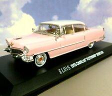GREENLIGHT 1/43 1955 CADILLAC FLEETWOOD SERIES 60 SPECIAL ELVIS PRESLEY IN PINK