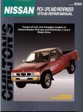 1970-1988 Chilton Nissan Pick-Ups & Pathfinder Repair Manual