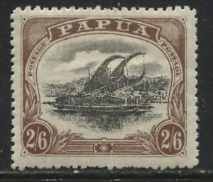Papua 1910 2/6d Type 2 mint o.g.