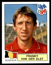 PANINI USA '94 (INT VERSION) FRANKY VAN DER ELST BELGIUM No. 385