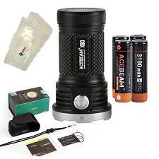 Acebeam X80 12*CREE XHP50.2 LED 25000 Lumen Flashlight w/ Battery Box