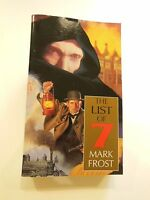 FIRST EDITION THE FIRST  OF 7 BY MARK FROST 1994 PAPERBACK SIGNED BY AUTHOR NEW