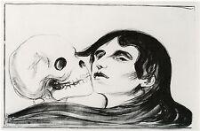 Edvard Munch Prints: Kiss of Death - Fine Art Print