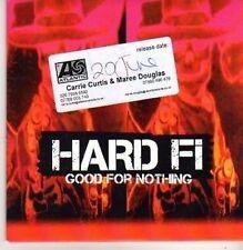 (CB270) Hard Fi, Good For Nothing - 2011 DJ CD