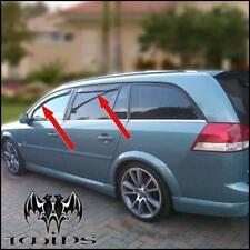 4 Déflecteurs vent pluie air teintées Opel Vectra C SW 2002-2009 station wagon