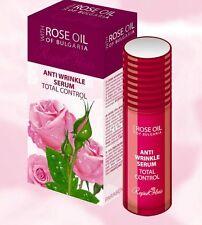 Biofresh Bulgarian Rose ANTI WRINKLE/ANTI-AGE ROSE SERUM with Pure Rose oil 40ml